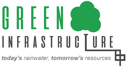 Green Infrastructure on UNL Campus (logo created by ADPR students, Spring 2017)
