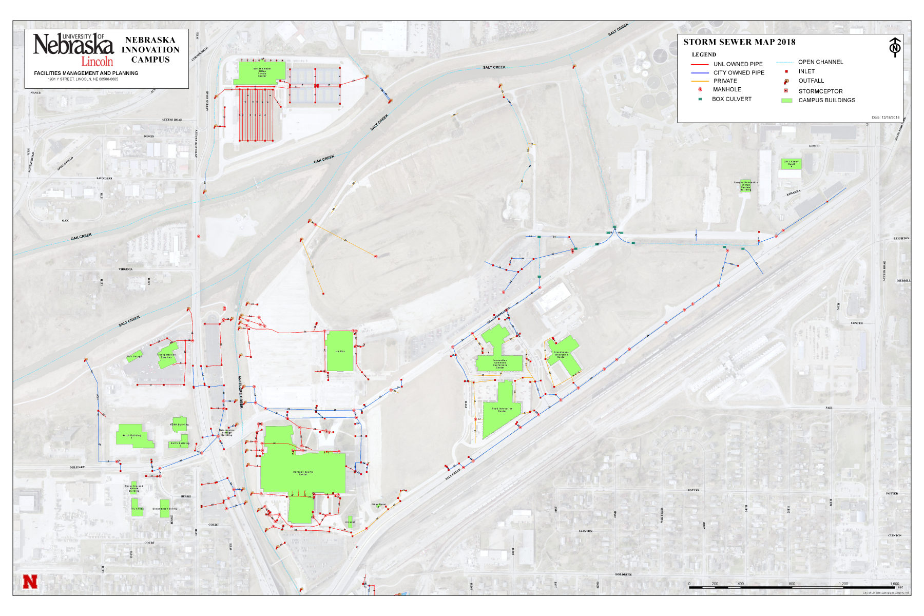 NIC Storm Sewer Map